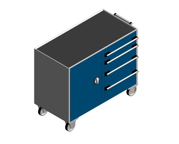 bimstore 3D image of the Cubio Mobile Cab 50-50 (Mpx) from Bott