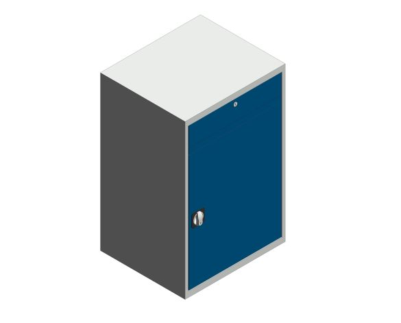 bimstore 3D image of the Verso Computer Cupboard from Bott