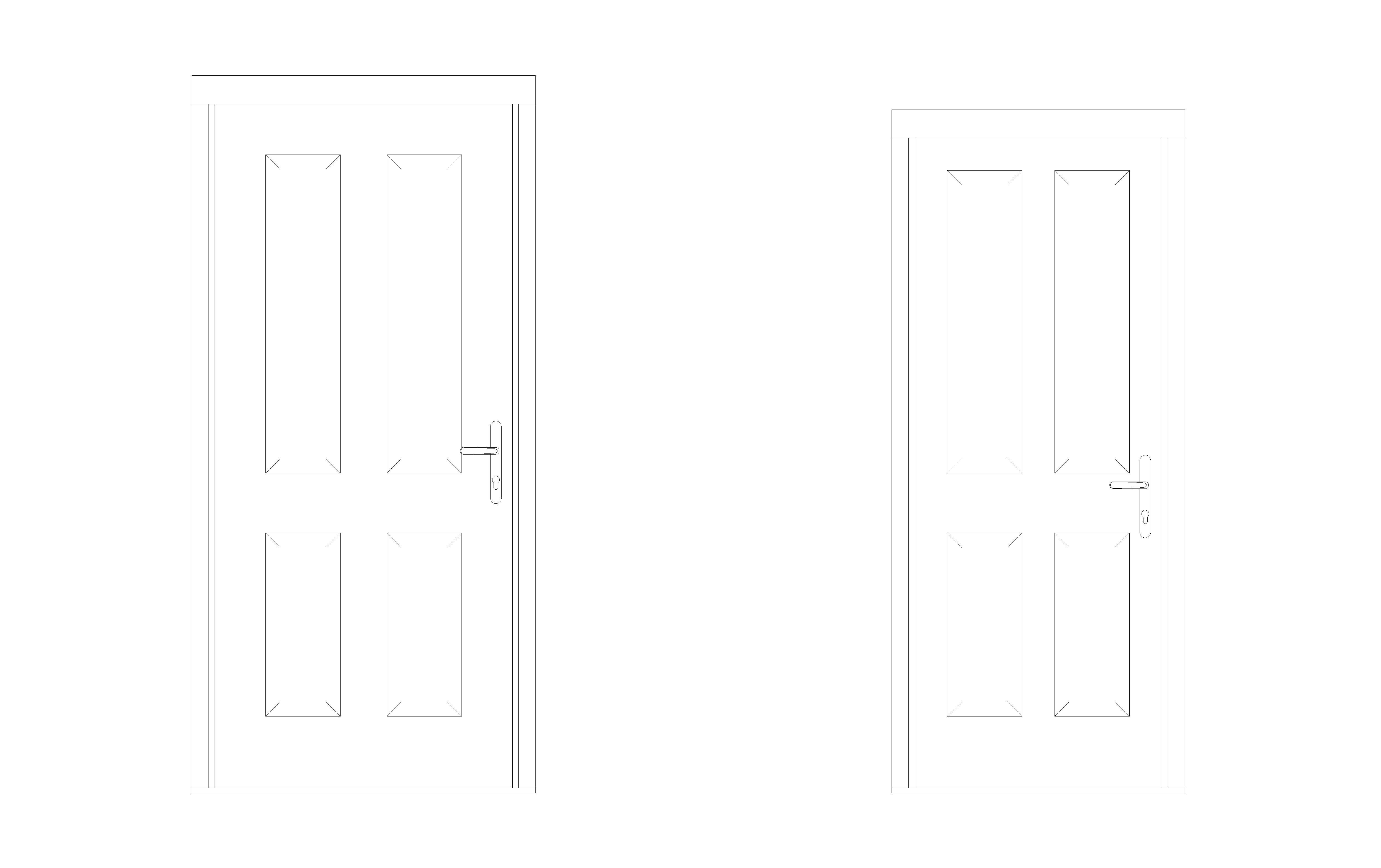 Bowater Fire Door - Brough Front Image