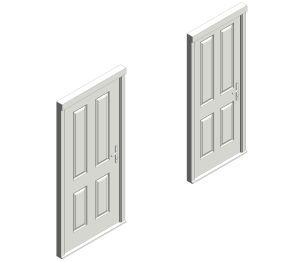 Bowater Fire Door - Brough Iso Image