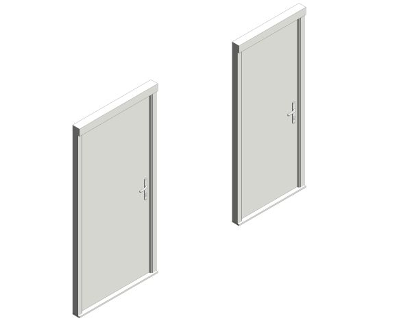 Bowater Fire Door - Camber Iso Image