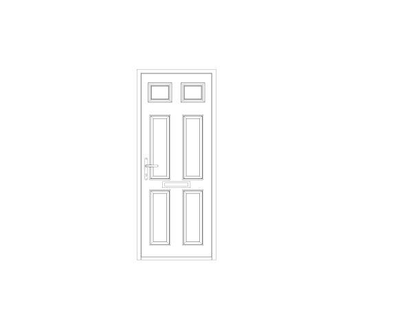 bimstore front image of Bowater - Composite Door – Alnwick