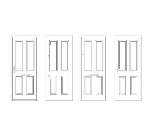 bimstore front all image of Bowater - Composite Door – Bede