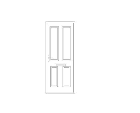 bimstore front image of Bowater - Composite Door – Bede