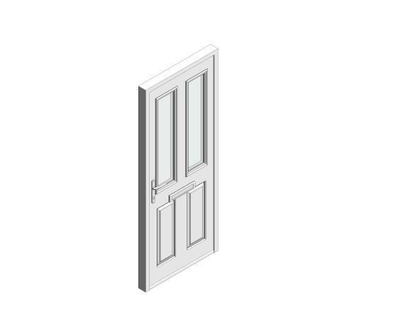 bimstore 3D image of Bowater - Composite Door – Bede