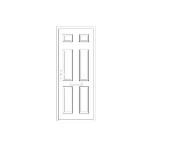 bimstore front image of Bowater - Composite Door – Cuthbert