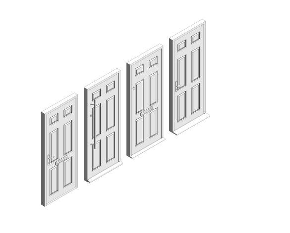 bimstore 3D all image of Bowater - Composite Door – Cuthbert