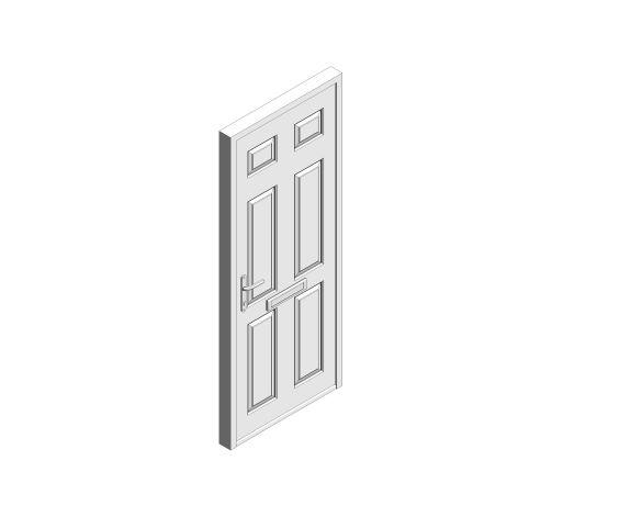 bimstore 3D image of Bowater - Composite Door – Cuthbert