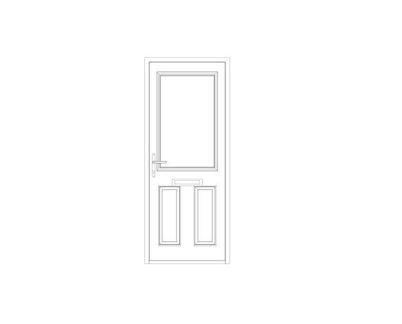 bimstore front image of Bowater - Composite Door – Lindisfarne