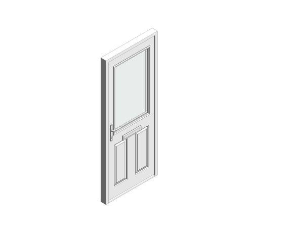 bimstore 3D image of Bowater - Composite Door – Lindisfarne
