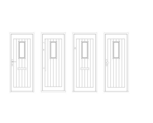 bimstore front all image of Bowater - Composite Door – Maple
