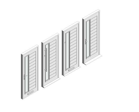 bimstore 3D all image of Bowater - Composite Door – Talbot