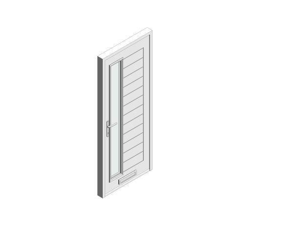 bimstore 3D image of Bowater - Composite Door – Talbot