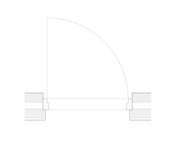 Product: Steel Flood Door - Single Leaf