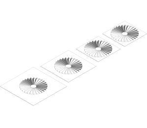 Product: DWS Series Swirl Diffuser