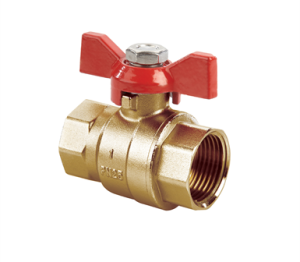 Product: Quarter Turn Ball Valve With Tee Handle - 1205
