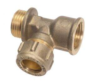 Product: Conex Compression Tee with Male and Female Ends - 645