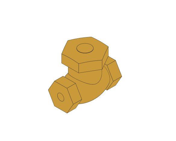 Product: D116 - Lift Check Valve - Bronze