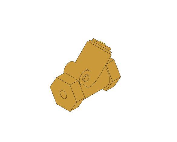 Product: D142 - Swing Check Valve - Bronze
