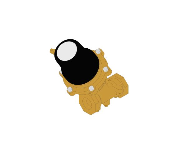 Product: DPAF961 - Differential Pressure Control Valve (DPCV) - Female Ended (Flow) - Bronze