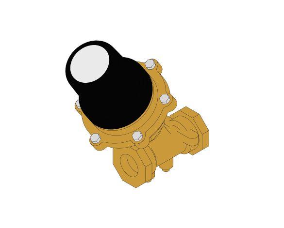 Product: DPAR961 - Differential Pressure Control Valve (DPCV) - Female Ended (Return) - Bronze