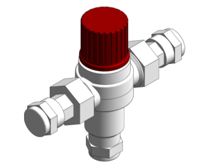 Image of Thermostatic Mixing Valves - D1088 / D1089