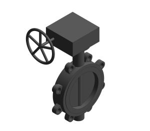 F648G - Butterfly Valve Fully Lugged Gearbox Operated