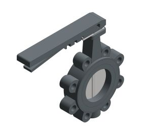 Image of Butterfly Valve Lever Operated - FM638