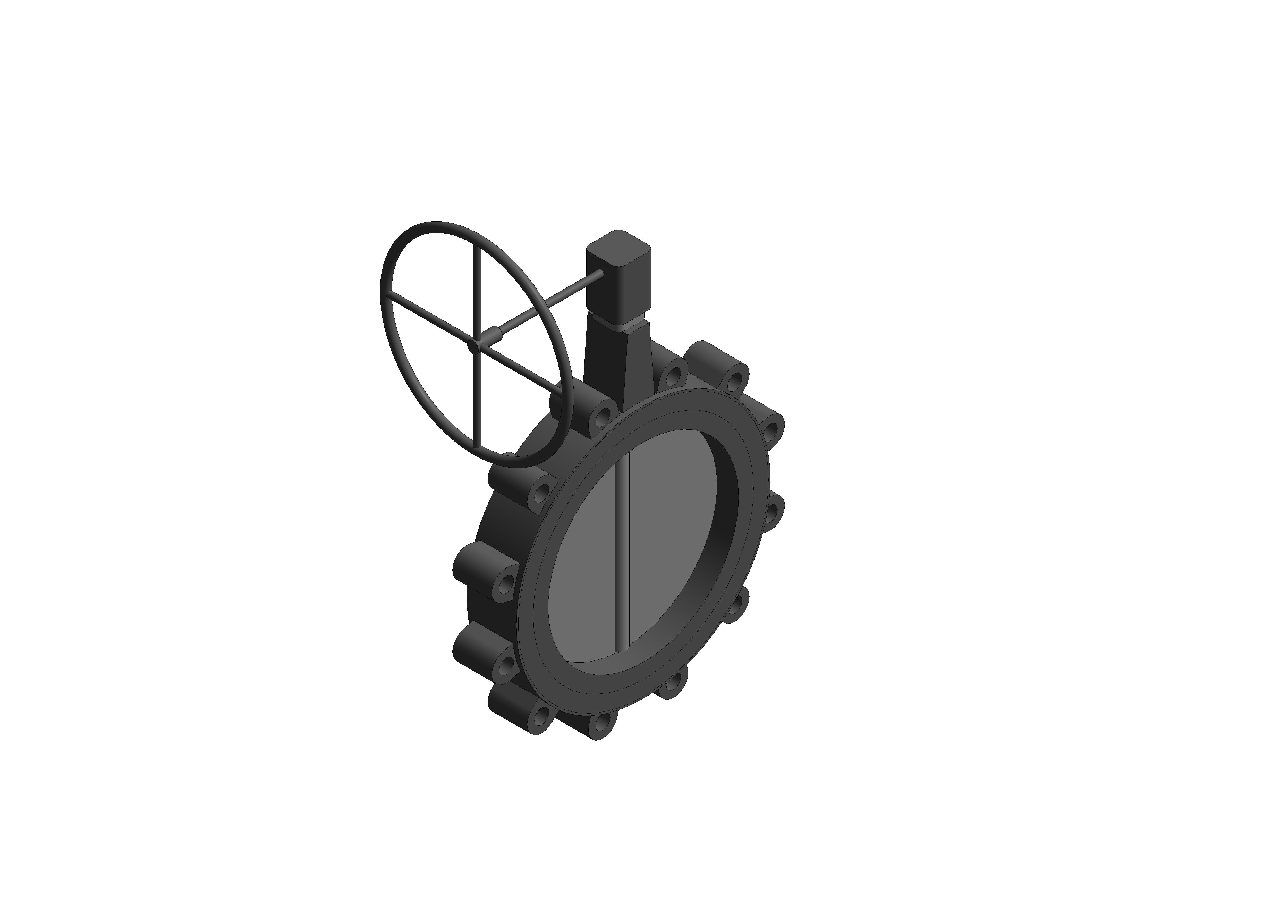 Image of Butterfly Valve Gearbox Operated - FM639