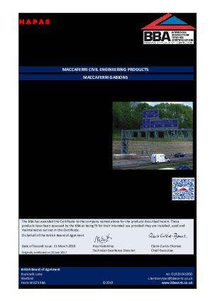 BBA Certificates