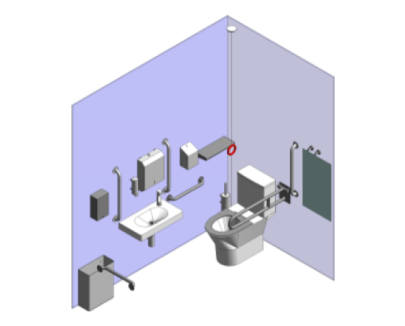 Product: CLOSE COUPLED DOC M WC SET