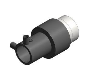 Product: Single Wall Spigot Female BSP - 10bar