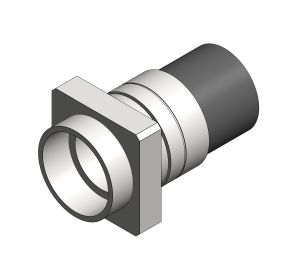 Product: Single Wall Spigot Female Compact Flange BSP - 10bar