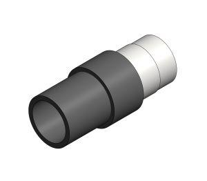 Product: Single Wall Spigot Male BSP - 10bar