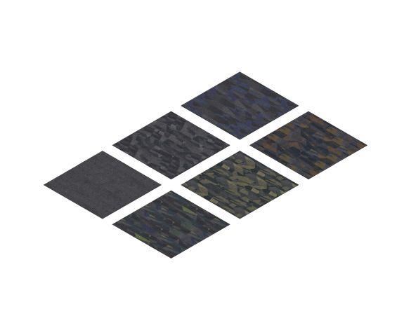 Product: Flotex Converge Flocked Flooring Planks