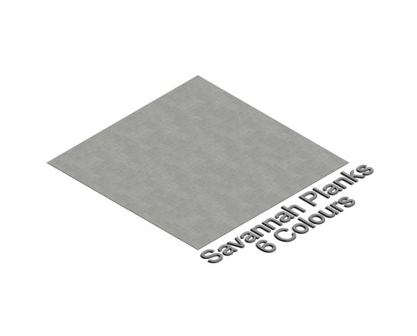 Product: Flotex Savannah Planks ISO3