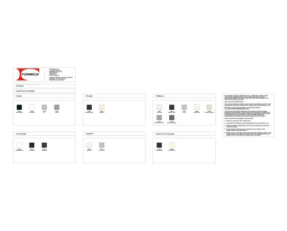Revit, BIM, Download, Free, Components, object, objects, Formica, Group, colorcore, compact, colour