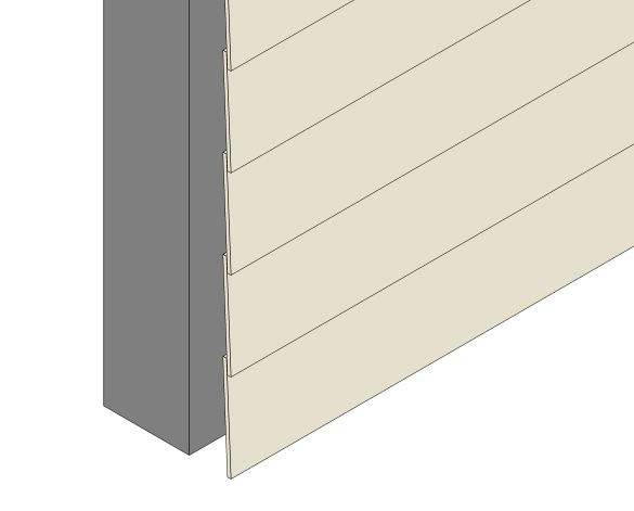 Revit, BIM, Download, Free, Components, object, objects, Formica, Group, VIVIX, Lap, Architectural, Weatherboard, Panels, Cladding, Exterior, Curtain, Wall