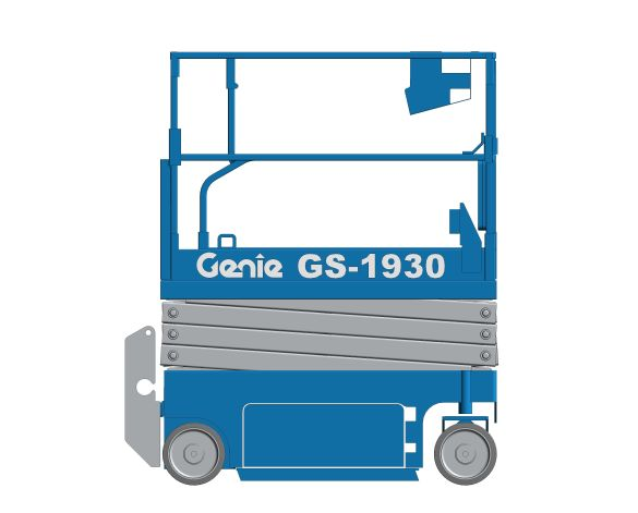 bimstore 3D image of GS-1930 from Genie