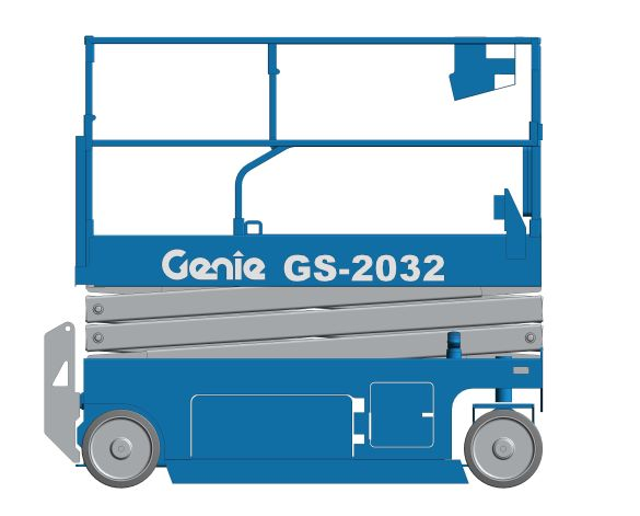 bimstore 3D image of GS-2032 from Genie
