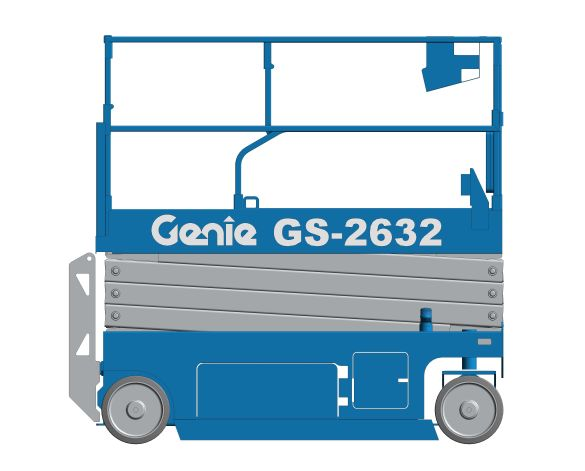 bimstore 3D image of GS-2632 from Genie