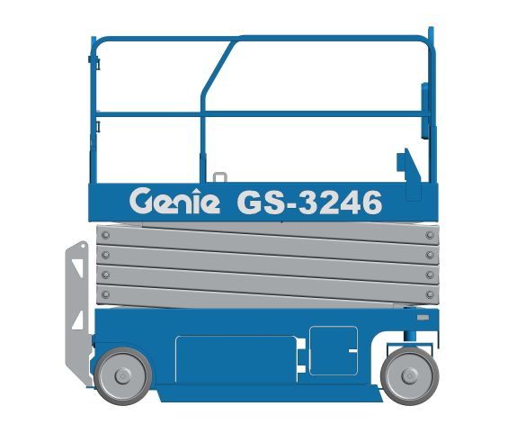 bimstore 3D image of GS-3246 from Genie