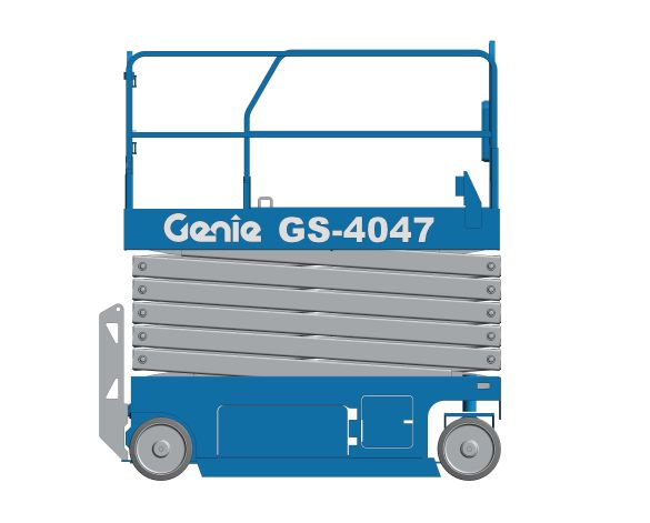 bimstore 3D image of GS-4047 from Genie