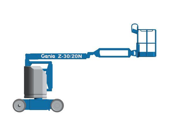 bimstore 3D image of Z-30/20N from Genie