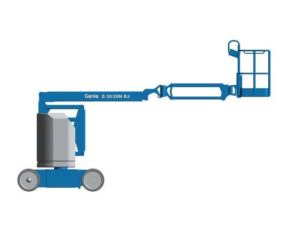bimstore 3D image of Z-30/N RJ from Genie