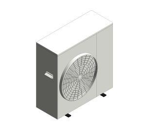 Aerona³ - R32 Air source heat pump - 10kW