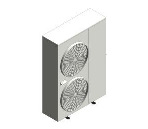 Aerona³ - R32 Air source heat pump - 17kW