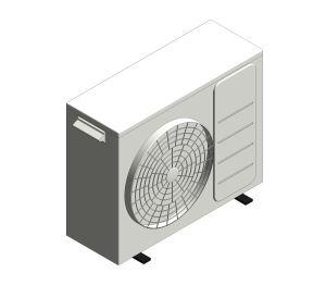 Aerona³ - R32 Air source heat pump - 6kW