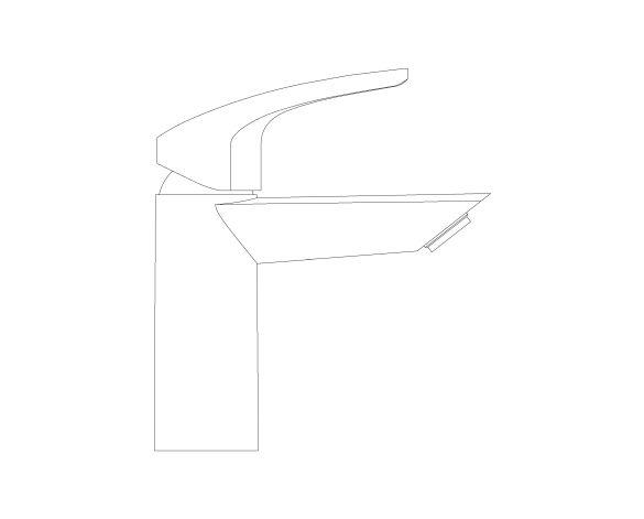 Product: Eurosmart - Single-Lever Basin Mixer 1/2″ S-Size - 23124003