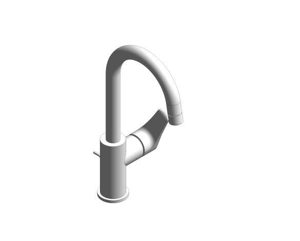 Product: Eurosmart - Single-Lever Basin Mixer 1/2″ M-Size - 23537003